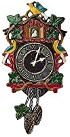 Cuckoo Clock German Pewter Christmas Tree Ornament by Kuehn