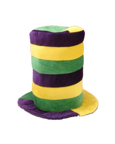 Forum Novelties 61577 Mardi Gras Stovepipe Hat