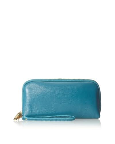Zenith Women's Wallet Wristlet, Teal, One Size