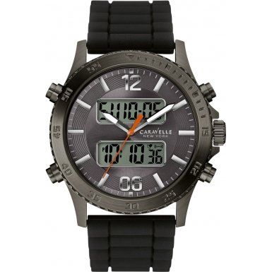 Caravelle New York AnaDigi Chronograph Mens Watch 45B132