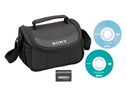 Sony ACC-DVDH2 Accessory Starter Kit for Handycam, DVD, Camcorders