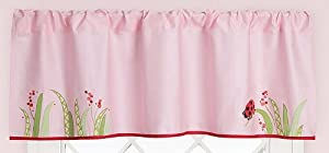 Lady Bug Window Valance