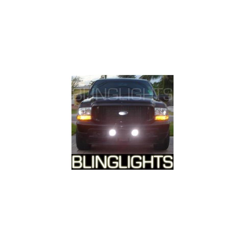 1999 2007 F 250 Ford Super Duty Xenon Foglamps Foglights Fog Lamps Driving Light