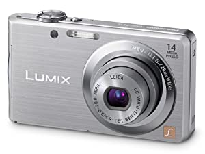 Panasonic Lumix FS16 Digital Camera - Silver (14.1MP, 4x Optical Zoom)  2.7 inch LCD