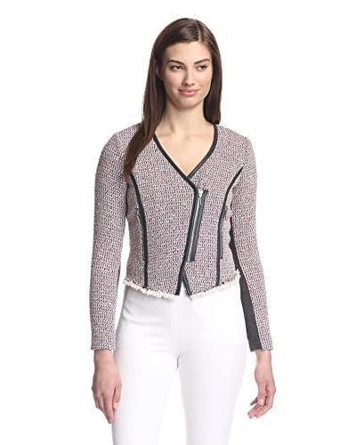Rebecca Taylor Women's Cut-Away Tweed Jacket