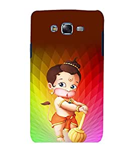 printtech Lord God Ganesha Animated Back Case Cover for Samsung Galaxy A5 / Samsung Galaxy A5 A500F