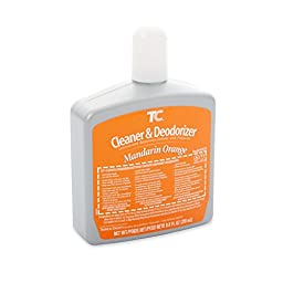 Rubbermaid Commercial FG401532 Cleaner and Deodorizer Refill for Auto Janitor Toilet and Urinal Cleaning Systems, Country Mandarin Orange