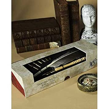 Authentic Models MG118 Feather Pen Set - MG118,