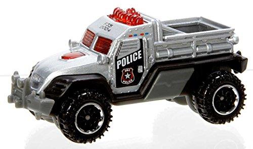 Matchbox Road Raider silber – MBX Police Truck – Polizei Sheriff Swat – MBX Heroic Rescue online kaufen