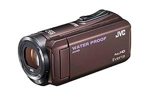 JVC KENWOOD JVC ビデオカメラ EVERIO 防水 防塵 内蔵メモリー32GB ブラウン GZ-R300-T