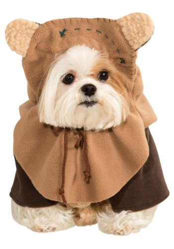 [Ewok Star Wars Pet Costume -Dog Medium] (Star Wars Dog Costumes Ewok)