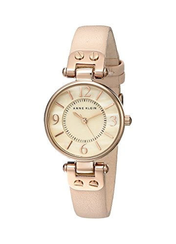 anne-klein-womens-10-9442rglp-rose-gold-tone-watch-with-leather-band