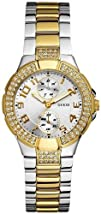 GUESS U13586L1 Status In-the-Round Watch  Two Tone