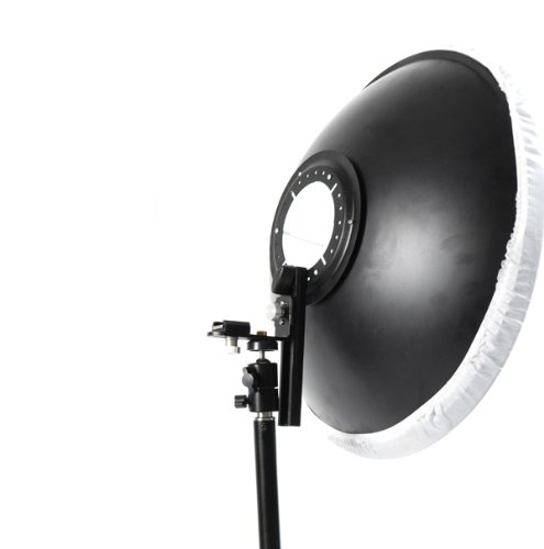 Cowboystudio 16 inch Photography Beauty Dish For Canon Nikon EX430, EX580, SB800, SB600