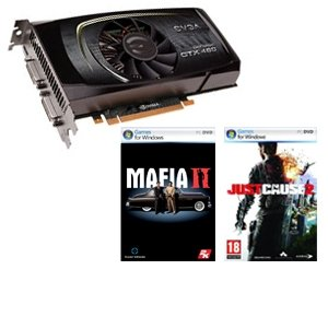 EVGA GeForce GTX 460 SE & Two Free Game Downloads