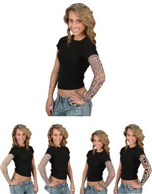 Amazon.com: New Mens Womens Vampires Fake Costume Arm Sleeve Tattoo: