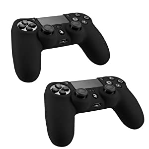 SlickblueTM Protective Silicone Case for Sony Playstation 4 PS4 Controller - Various Color