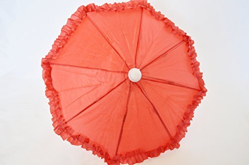 RED UMBRELLA FOR AMERICAN GIRL DOLLS