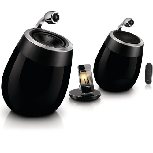 Philips DS9800W/10 Fidelio SoundSphere Docking Speakers for iPad/iPhone/iPod with AirPlay Black Friday & Cyber Monday 2014