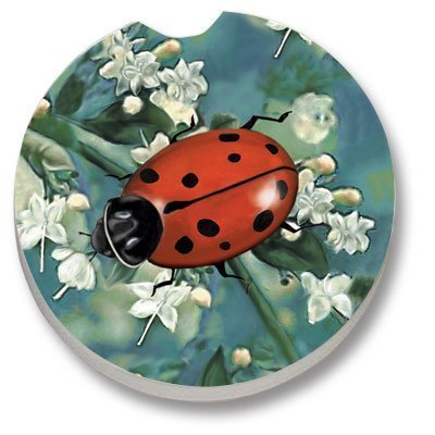 Ladybug - Single Car Coaster by CounterArt