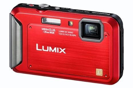 """Panasonic DMC-FT20EG-R Appareil photo numérique 16 mégapixels, zoom optique 4 x, écran 6,7 cm (2,6""""), stabilisateur d'image (Rouge) (Import Allemagne)"""