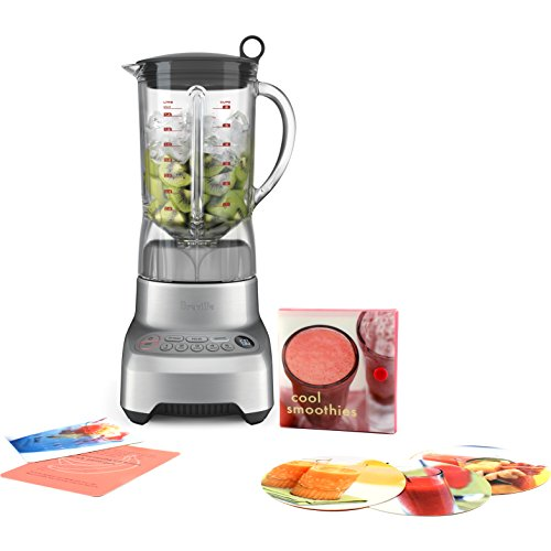 Breville Hemisphere Control Blender with Free Smoothie Recipe Book (Breville Bbl605xl compare prices)
