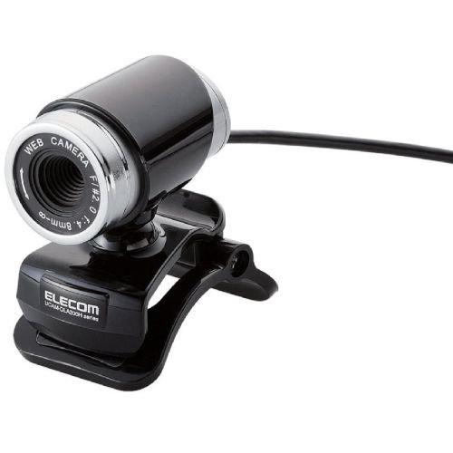 ELECOM Webカメラ200万画素 筒型 ブラック UCAM-DLA200HBK