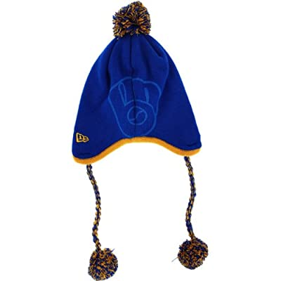 Milwaukee Brewers Tassle Twist Peruvian Knit Cap