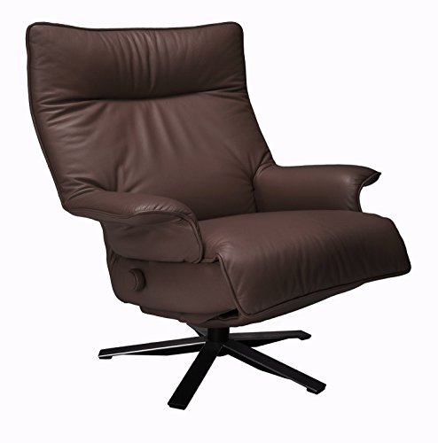 Valentina Recliner Espresso Leather Lafer Recliner Chairs (Valentina Espresso compare prices)