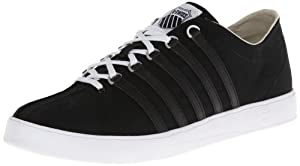 K-Swiss Men's The Classic Lite T Lace-Up Sneaker,Black/White,6.5 M US