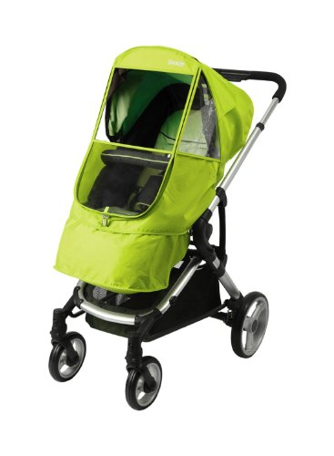 Manito Elegance Beta Stroller Weather Shield / Rain Cover - Green