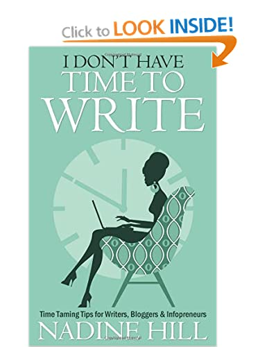 I Don't Have Time to Write by Nadine Hill - Amazon