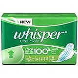 Whisper Ultra Clean - L Wings (8 Pads)