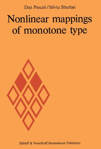 nonlinear-mappings-of-monotone-type