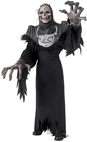 Rubie's Costume Co Men's Creature Reacher Grand Reaper Costume, Black, Standard