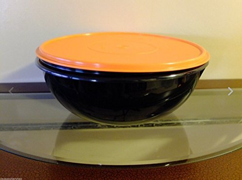 Tupperware Fix n Mix Serving Bowl 26 Cup Black/Orange New Halloween (Extra Large Tupperware Bowl compare prices)