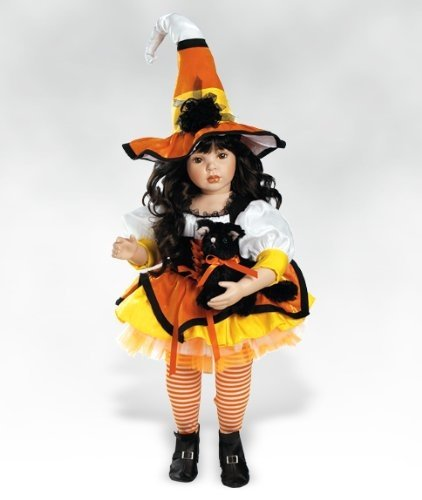 Bewitching Magic - 24 Inch Collectible Porcelain Doll (Artist Donna Rubert) By Paradise Galleries