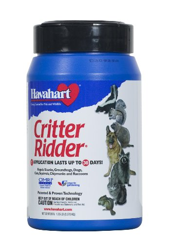 Havahart Critter Ridder 3141 Animal Repellent Granular 1-1/4-Pounds