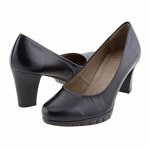 Style Lounge scarpe in pelle nera I-6012 Wonders Misure: 40 Colore: NERO