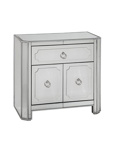 Bassett Mirror Company Chapman Small Chest, Mirrored