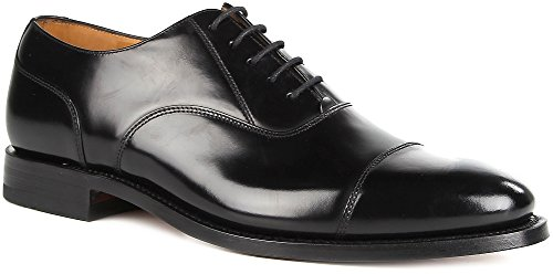 mens-loake-200b-capped-oxford-lace-up-polished-leather-shoes-10-g-uk-black
