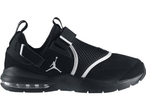Nike Jordan Trunner 11 LX Mens Training Shoes (Black/White-Metallic Silver) 14