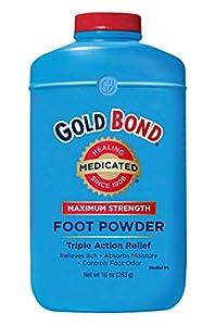 Amazon Com Gold Bond Medicated Foot Powder 10 Oz