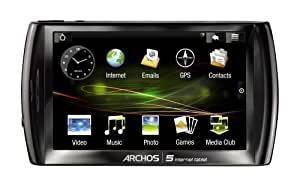 Archos 5 500GB Internet Tablet With Android (Black)