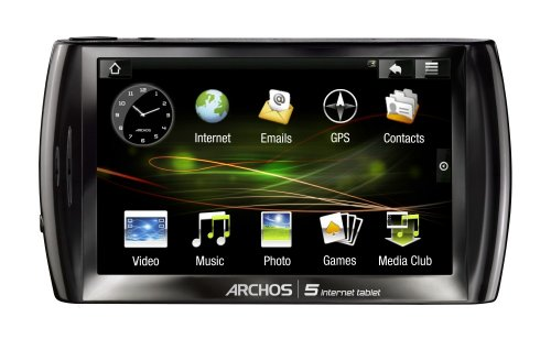 Best Archos 5 500 GB Internet Tablet with Android