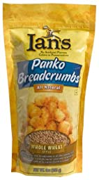 Ian\'s Whole Wheat Panko Breadcrumb, 9-Ounces (Pack of 12)
