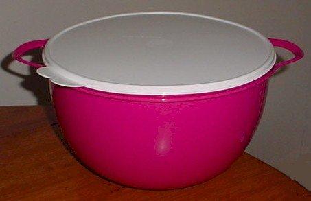 Win Tupperware Thatsa Mega Bowl, 42 Cups, Fuchsia Pink cheapest