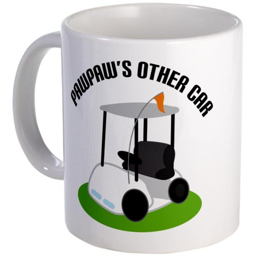 Pawpaw Golf Cart Mug Mug By Cafepress