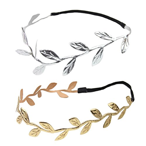 Century Star Baby Infant Newborns Toddler Cute Fashion Gold Leaf Hair Headband 2PCSStyleB (4 Year Old Accesories compare prices)