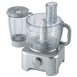 Kenwood Multi Pro FP735 Food Processor, 3 Litres, 900W (Silver)